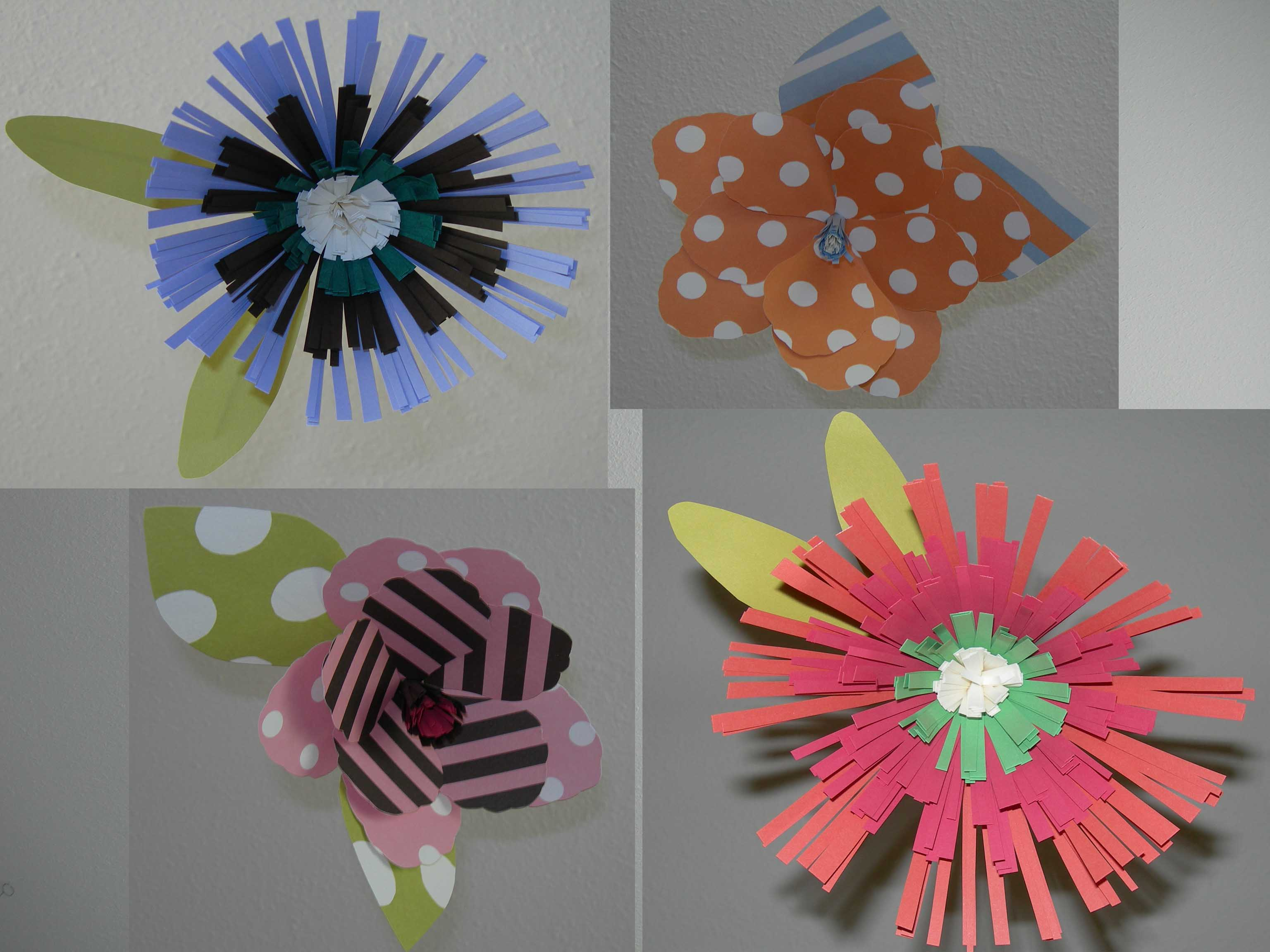 Glace Paper Flower